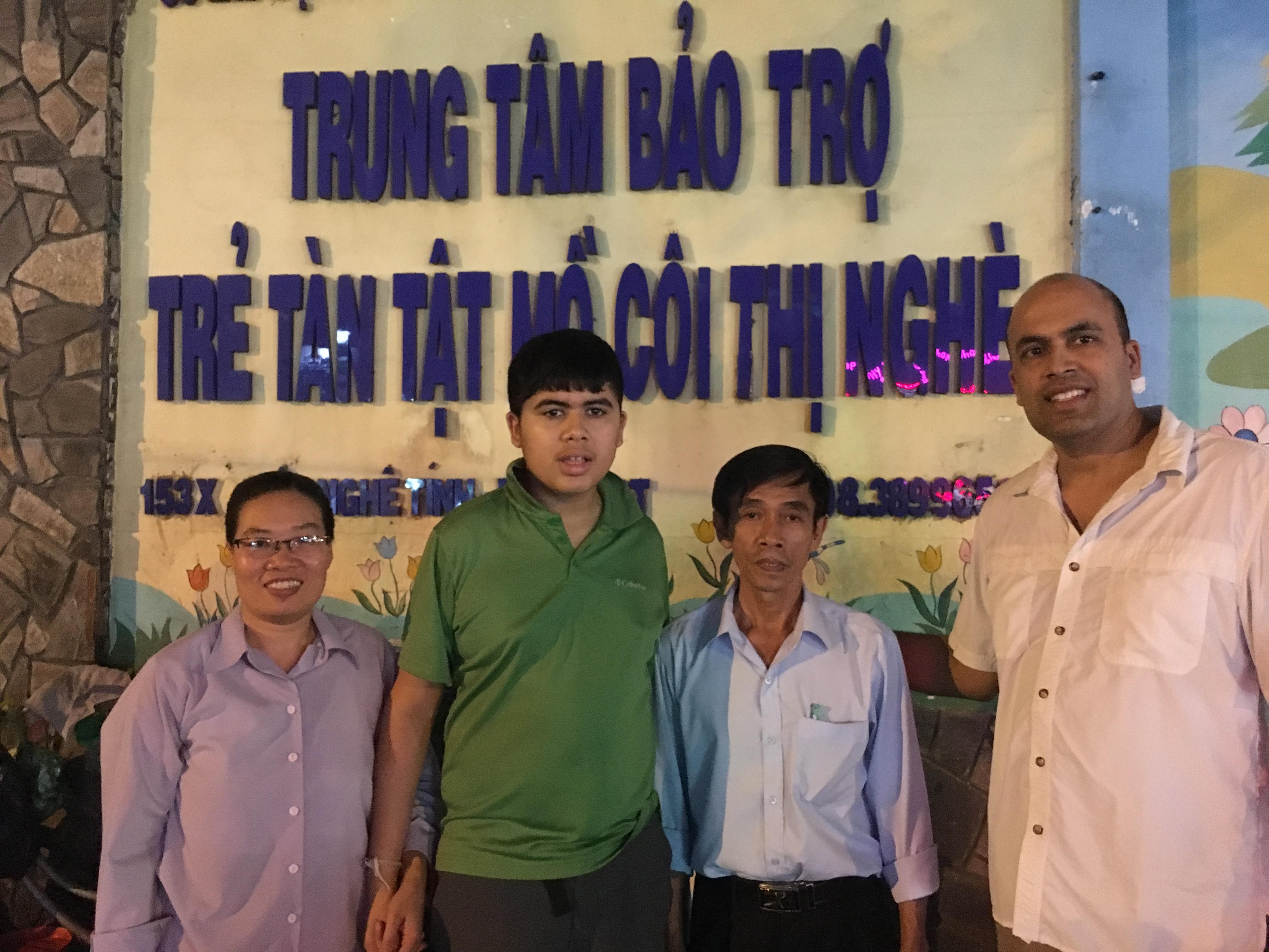 Orphanage in Vietnam